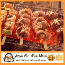 Barbecue Wire Mesh / aço inoxidável crimped grade de arame churrasqueira