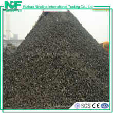 Tipo metalúrgico coque do casco do baixo carbono do baixo carbono do vapor para a metalurgia