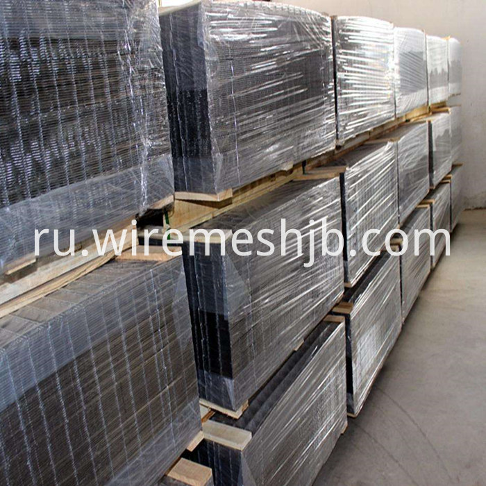Black Steel Welded Mesh