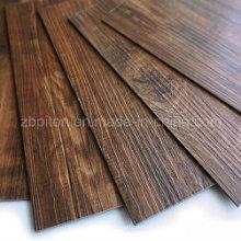 Feuille chaude de plancher de vinyle de PVC de vente chaude