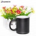 High quality DIY gift Sunmeta magic coffee mug for sublimation, color changing cup