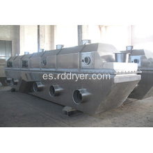 Alta velocidad de secado Vibro Fluid Bed Dry Machinery