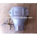 Aluminum reducing quick coupling