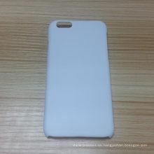caja caliente del teléfono del espacio en blanco 3D de la venta para la manzana 6