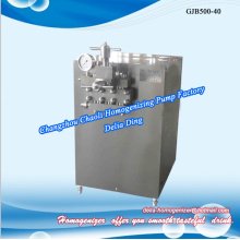 Stainless steel high pressure homogenizer for juice