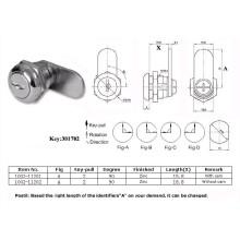 Dust Cover Cam Lock, Zinc Cam Lock, Furniture Lock Al-2001