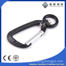 Promotional small Aluminum carabiner combination lock carabiner wholesale