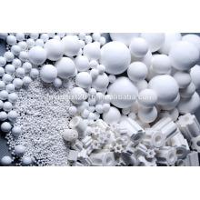 fabricante de bola de alumina ativada branca, melhor preço bola de óxido de alumínio