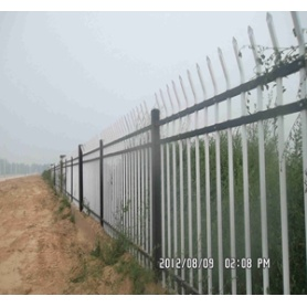 professional PVC coated zinc steel fence