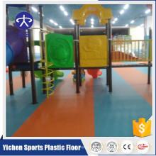 indoor PVC colorful kindergarten flooring