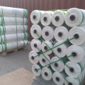 Polyethylene bale wrap net for dairy straw