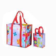 подарок хозяйственная сумка,Рождественский подарок мешок,Non сплетенный мешок подарка