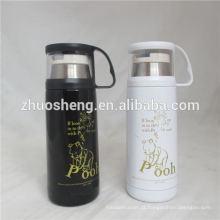 garrafa térmica thermos hip flask plástico garrafa térmica thermos funky frascos
