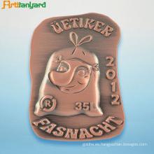 Insignia personalizada del Pin del metal del logotipo con la galjanoplastia
