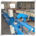 Square/ Round Downpipe Curving Roll Forming Machine, Rainwater Downpipe Roll Forming Machine