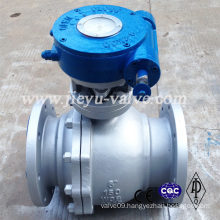 "150lb 8"" Worm Operated Ball Valve"