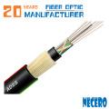 20 anos fibra optica manufactory fornecimento adss multimodo 48 core cabo de fibra óptica