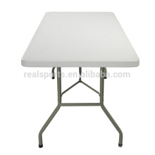 6FT HDPE Plastic Folding Table And Blow Mold Outdoor Picnic Folding Table/Camping Table