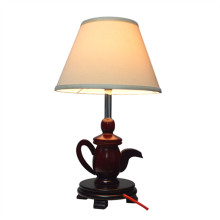 Modern Teapot Wood Desk Lamp (KAM-SB)