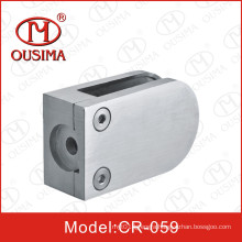 Lengthened Stainless Steel Handrail Fitting& Glass Clamp