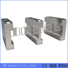 Sidik Jari Stainless Steel Swing Gate Turnstiles
