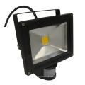 20W IP65 85-265V IR controlador PIR LED Floodlight