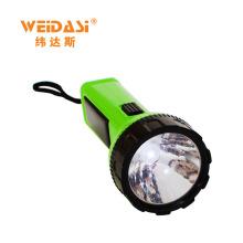 Lampe de poche solaire WD-513 lumière de la torche lumineuse emenrgency a mené la lumière forte et la luminosité sont réglables