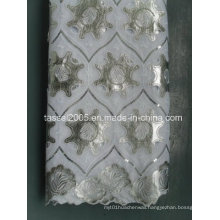 Netted Leather Lace With Sequince Stock (KS919)