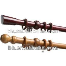 wood curtain rod set,wood curtain rod kit,curtain rods 2m