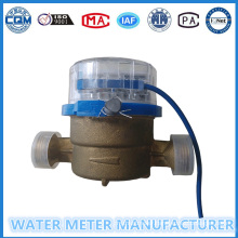 Single Jet Pulse Water Meter Brass Body