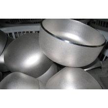 Tampa de extremidade de tubo de aço inoxidável ANSI 16,9 304