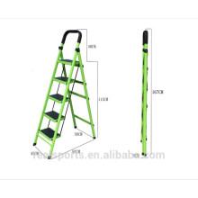 Escada de múltiplos propósitos de aço de dobramento da escada das etapas da escada da velocidade cinco convenientes