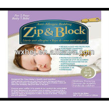 Zip & Block Anti Allergen & Bett Bug Proof Krippe Matratze Encasement
