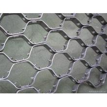 Acero inoxidable hexagonal resistente al calor Hexsteel / Hex Steel Mesh