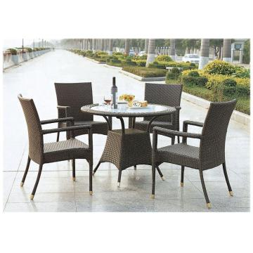 Hotell PE Rattan Wicker Furniture Round Patio Set