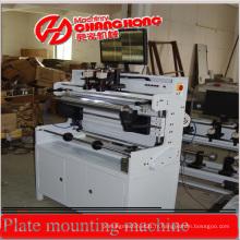 Machine de montage de plaque pour machine d'impression Flexo