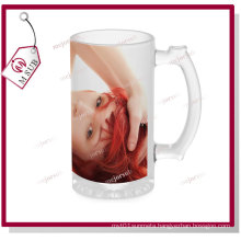 16oz Glass Sublimation Beer Mugs by Mejorsub