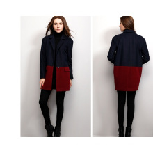 Chic Women′s Winter Single Breasted Ladies Overcoat