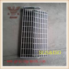 China Fabricante galvanizado Swage bloqueado reja de acero