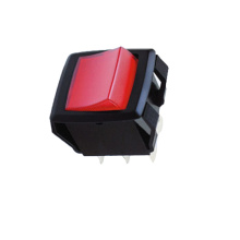 DPST DPDT2-3 Posisi Rocker Switch