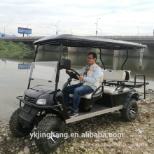 chinese good quality off road 6 seater gas powered golf cart with 250cc engine for sale
