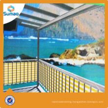 Hot selling balcony patio wind balcony net with low price