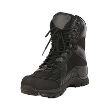 Black Nylon Fabric Police Tactical Boots (2012)