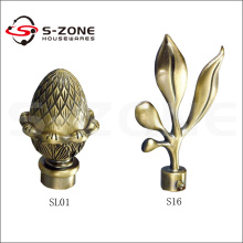 Factory Wholesale Iron Curtain Rod/Pole with elegant curtain final