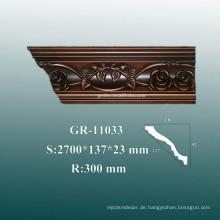 Ökonomische dekorative Polyurethan 3D Wand Eckpaneele Molding