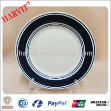 10.5 '' Color Glaze Plate