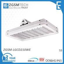 Alta potência LED 210W comercial LED luminária