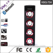 KBQ-704 build-in battery 5000mAh home audio portable wireless bluetooth speaker system