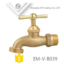 EM-V-B039 Manufacture threaded brass bibcock tap