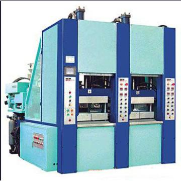 Máquina de moldagem por injeção de duas estações EVA